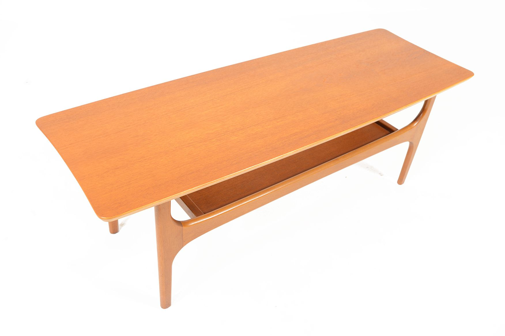 TEAK STINGRAY COFFEE TABLE BY JENTIQUE • Mid Century Mobler