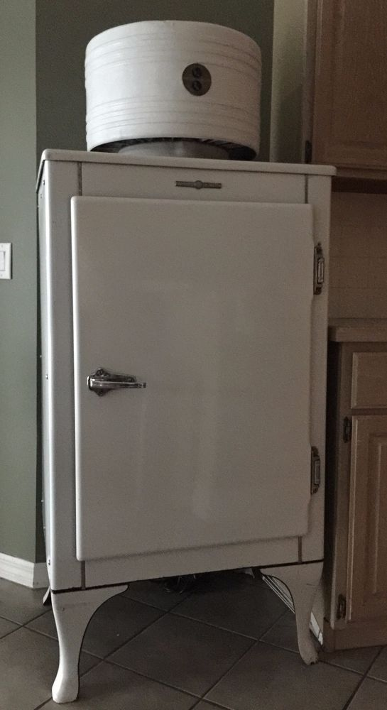 1930 S G E Monitor Top Refrigerator Ck 2 B16 Vintage Appliances Top Refrigerator Large Appliances