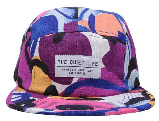 Abstract 5-Panel Hat by THE QUIET LIFE