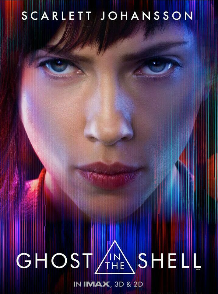 Ghost In The Shell 2017 Poster Ghost In The Shell Scarlett Johansson Ghost Scarlett Johansson