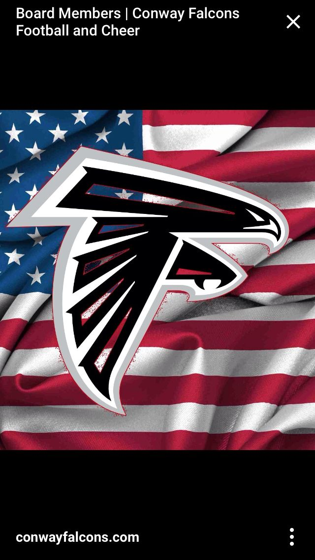 The Falcons respect for America.