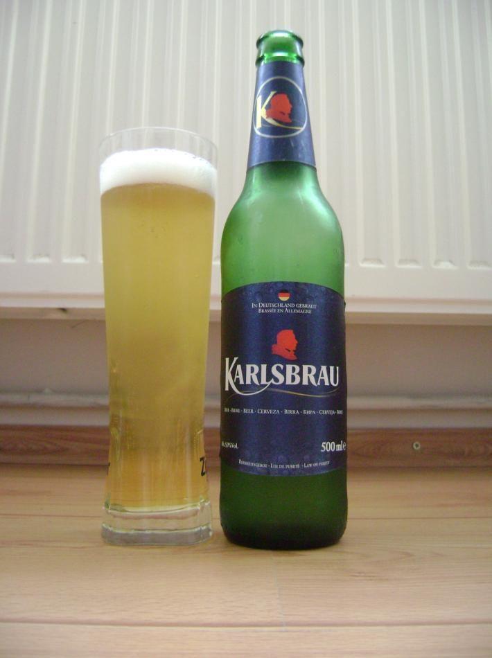 Karlsberg Brauerei - Karlsbräu 5,0% pullo