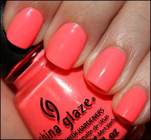 What\'s On My Nails - China Glaze Flip Flop Fantasy - myfindsonline ...