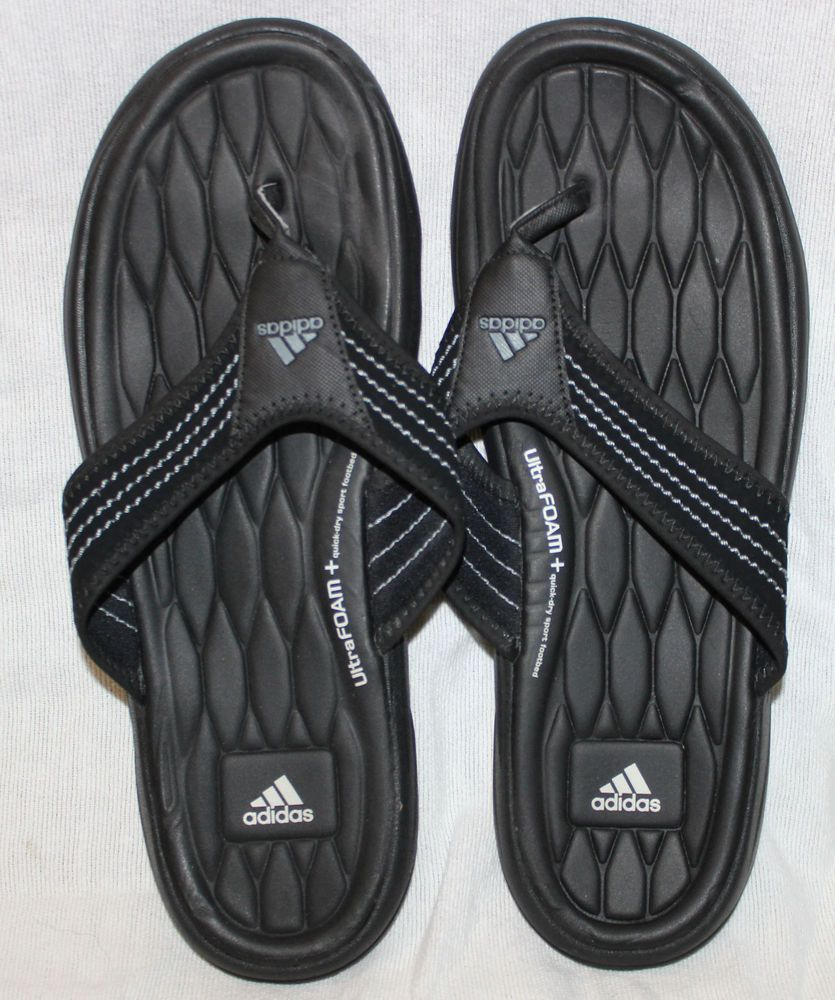 3c07de005 Adidas 9 USA Soft Comfort Ultra Foam Quickdry Sport Footbed Flip Flops  Sandals  adidas  comfort  ultrafoam  quickdry  footbed  sport  summer   spring  beach ...