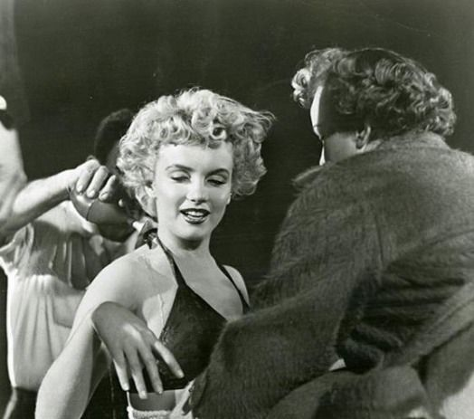 Marilyn On The Set Of The Movie Clash By Night 1952 Marilyn