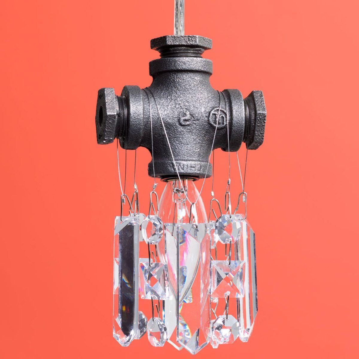 Tribeca single bulb chandelier michael mchale designs apt tribeca single bulb chandelier michael mchale designs arubaitofo Image collections