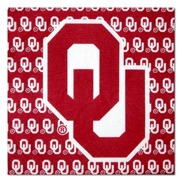 Oklahoma University Sooners Iron-on Rhinestone Transfer Bling