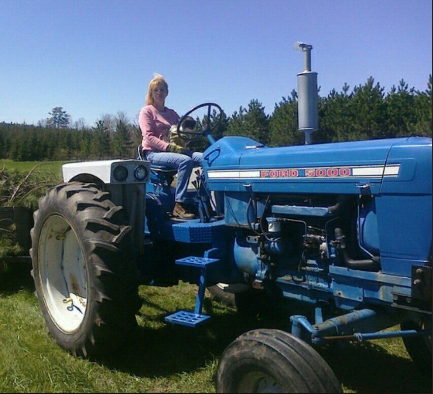 Ford tractor impliments vintage
