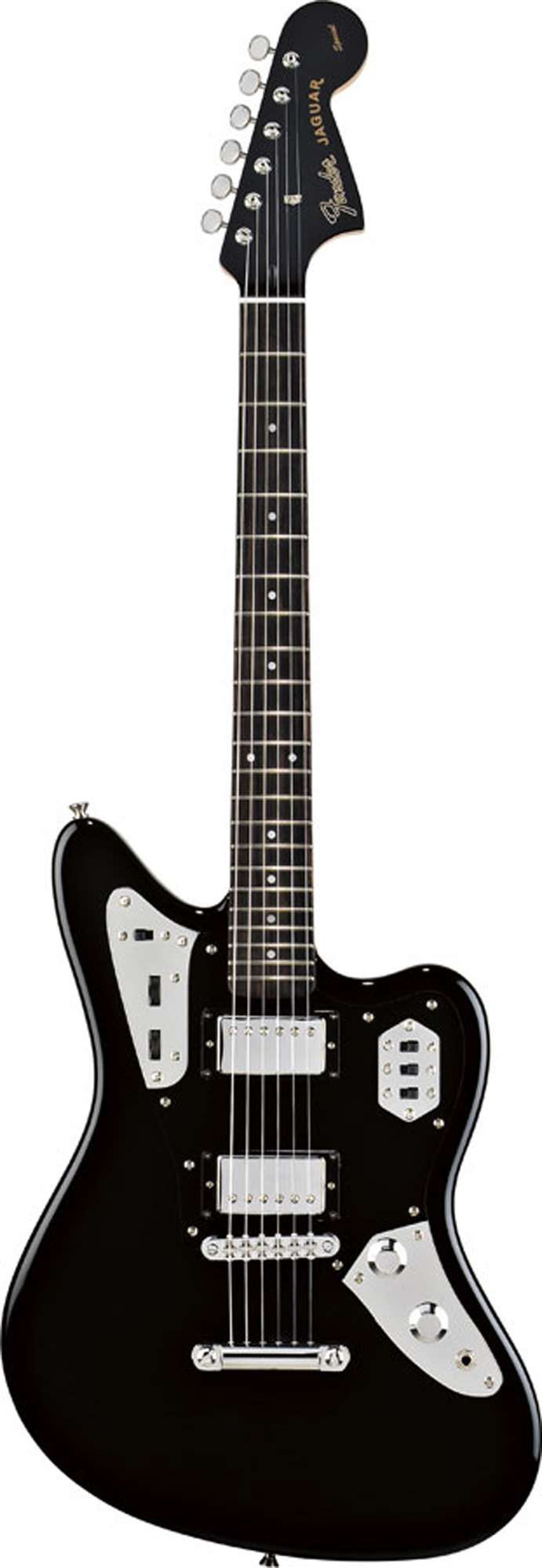 fender jaguar hh electric guitar alder body maple neck with rosewood fretboard 24 scale. Black Bedroom Furniture Sets. Home Design Ideas