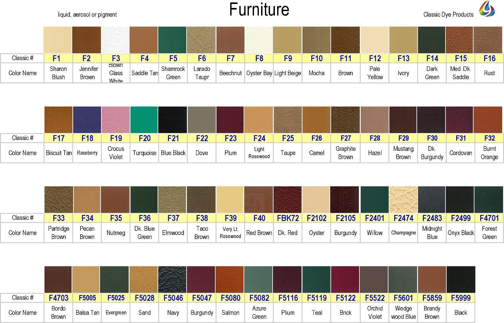 Aniline Dye Powder Colors Google Search Leather Dye Leather Furniture Colorful Furniture