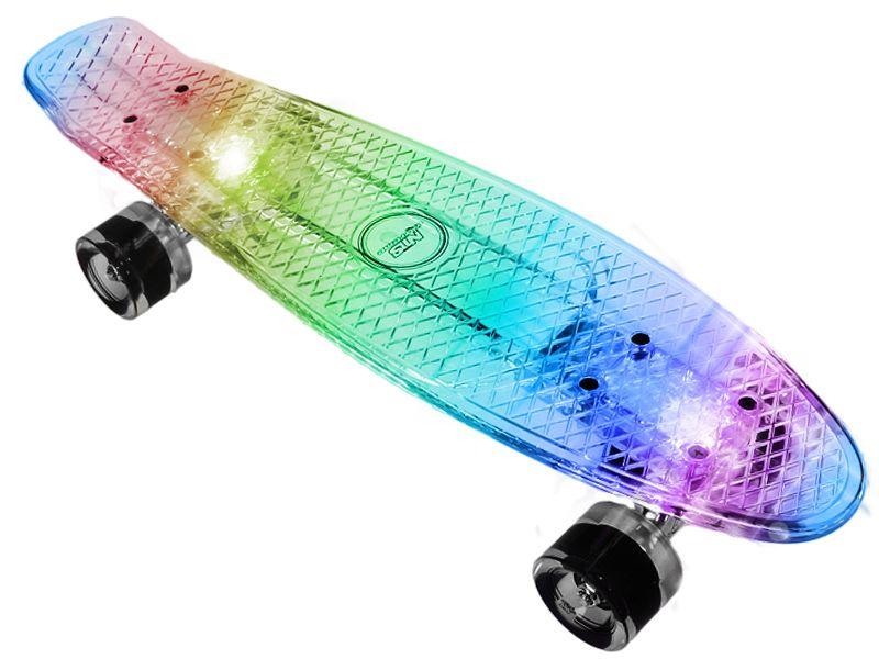 Kup Teraz Na Allegro Pl Za 79 99 Zl Swiecaca Deskorolka Fish Fiszka Pennyboard Led 7076333236 Allegro Pl Ra Penny Skateboard Penny Board Skateboard Girl