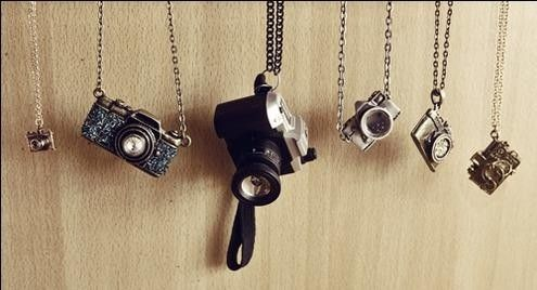 lens market pendant photography il charm photographer silver vintage etsy necklace camera