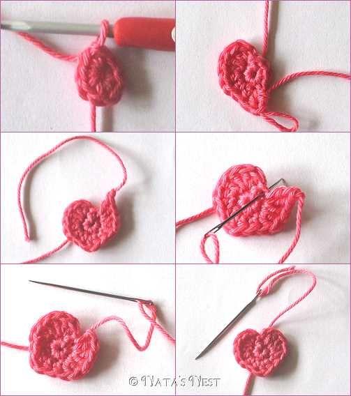 Häkelherzen   Crochet   Pinterest