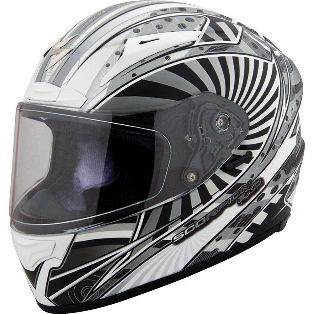 Scorpion Ion EXO-R2000 Street Bike Motorcycle Helmet - Matte Silver / Large. Color: Matte Silver. Size: Large. Scorpion Ion EXO-R2000 Street Bike Helmet. 2013 Model.
