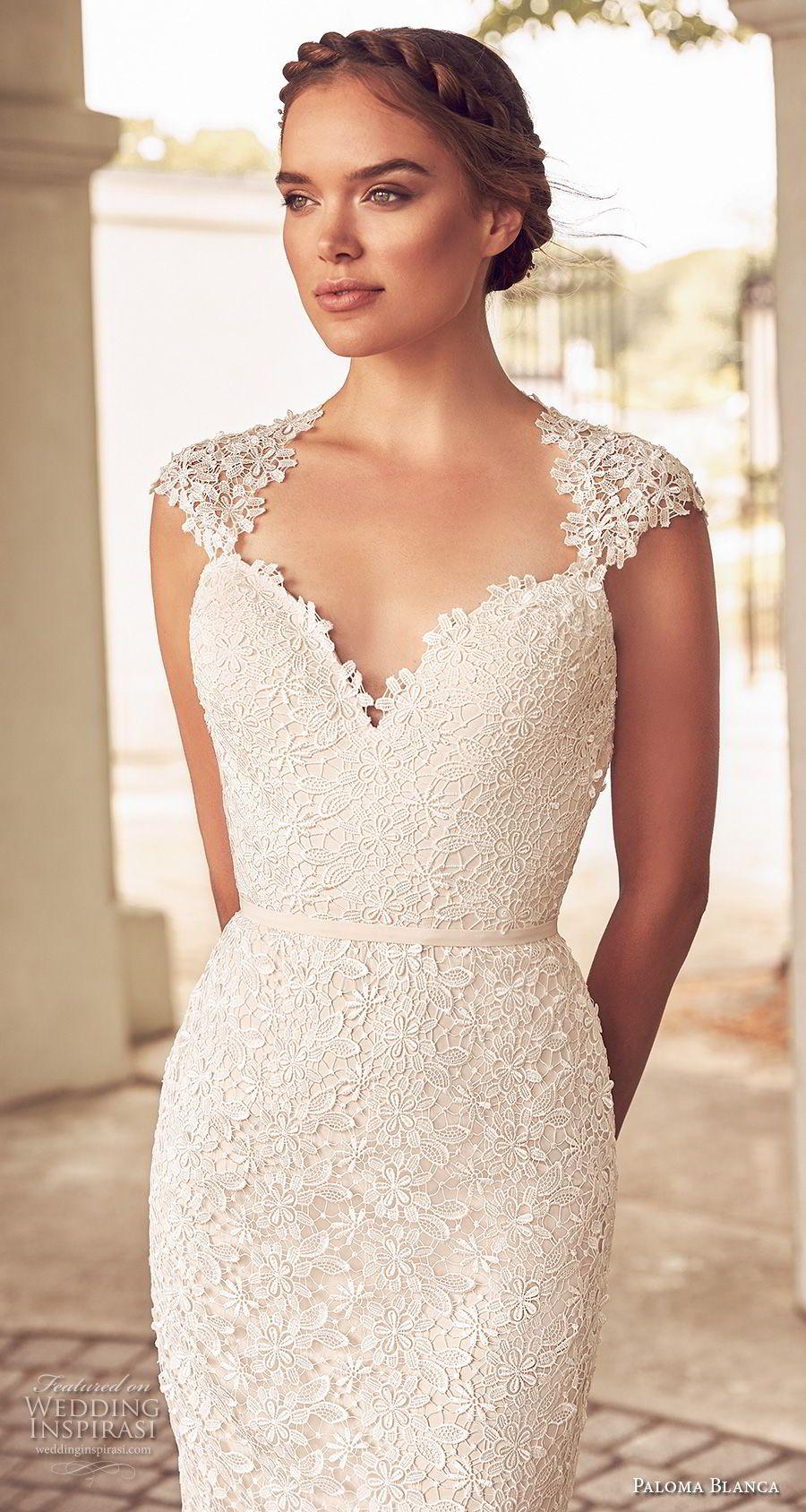 Paloma Blanca Spring 2018 Wedding Dresses | Hochzeitskleid, Zug und ...