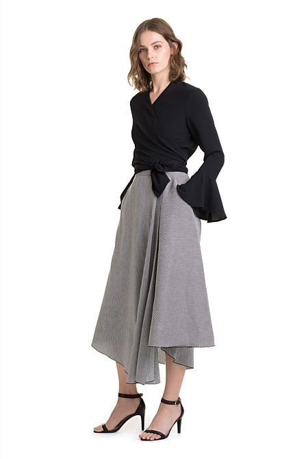 Tie Front Jacket Classy | outfits | clothes | modest | clothing | fashion | prof...