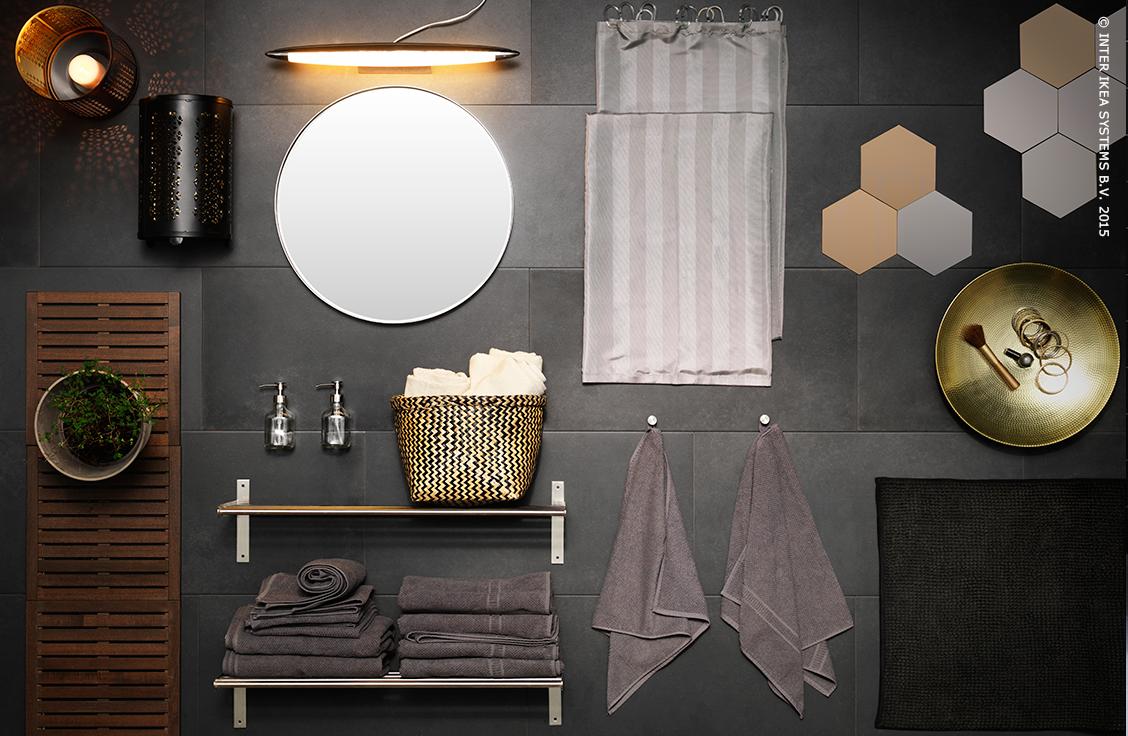 Salle de bains ikea home bathroom style simple bathroom Ikea accessoires salle de bain
