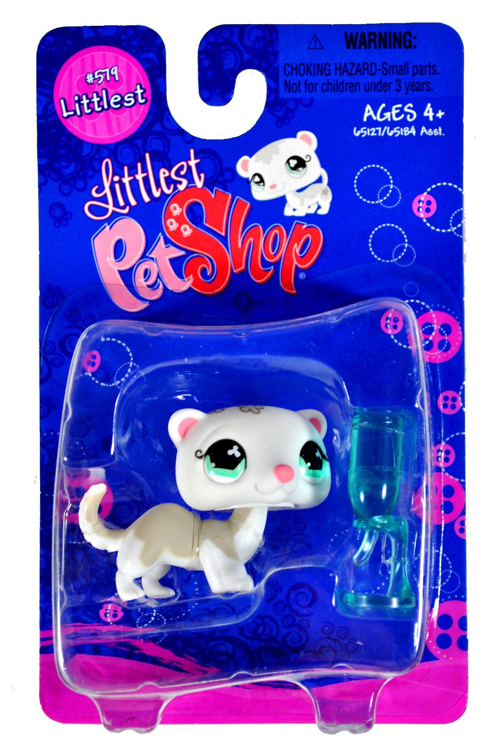 "Hasbro Year 2007 Littlest Pet Shop Single Pack ""Littlest"