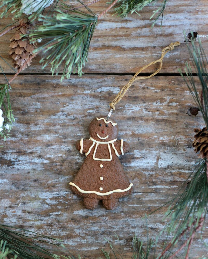 Christmas Ornament Primitive Gingerbread Girl Cookie Hanna S Handiworks This Ginger Girl Cookie Has Wh Christmas Ornaments Gingerbread Girl Christmas Crafts