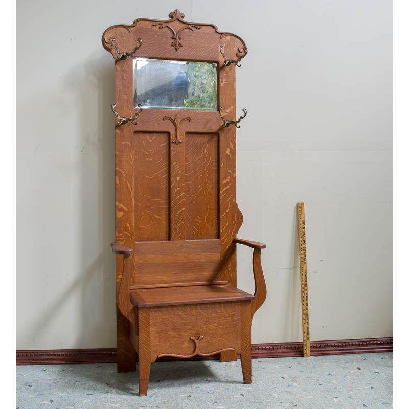Seattle Antiques Market specializes in American and English antiques,  furniture, and collectibles from the and Centuries. - Seattle Antiques Market - This Hall Tree Is Amazing Tinyhaus