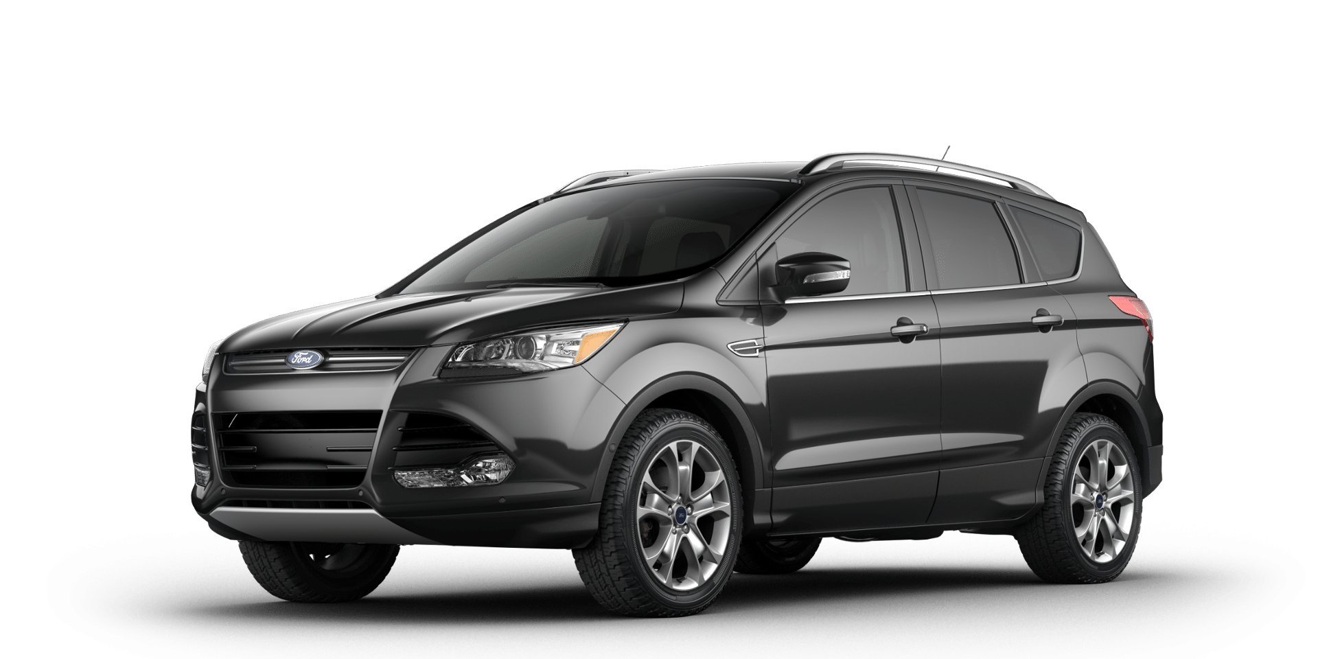 2016 Ford Escape Metallic with Black leather seats; as
