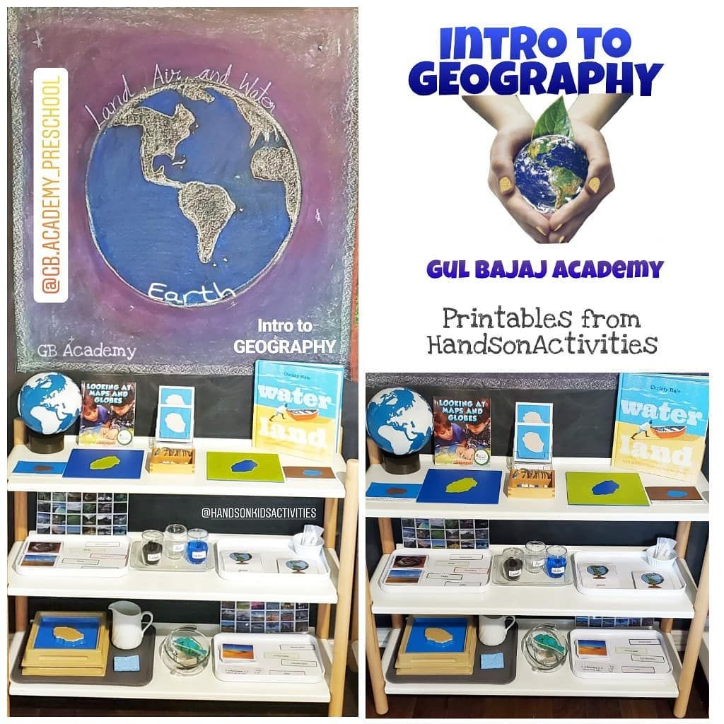 Intro To Geography Gbacademygeography Printables From