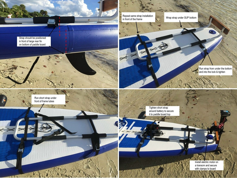 Motor Mount Kit for SUP | kayak | Inflatable paddle board