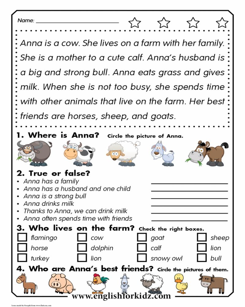 2nd Grade Printable Math Worksheets Farming Reading Comprehension Passages Reading Comprehension Worksheets Reading Worksheets