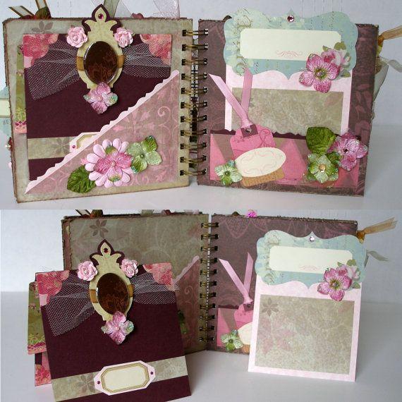 Beautiful Dreamer Premade Scrapbook Mini Album 6 X 6 By Dsmdesigns