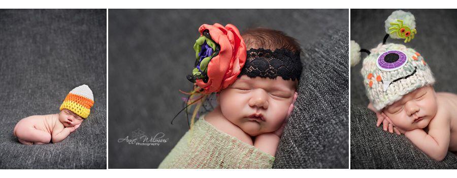 Anne wilmus photography halloween newborn photo ideas