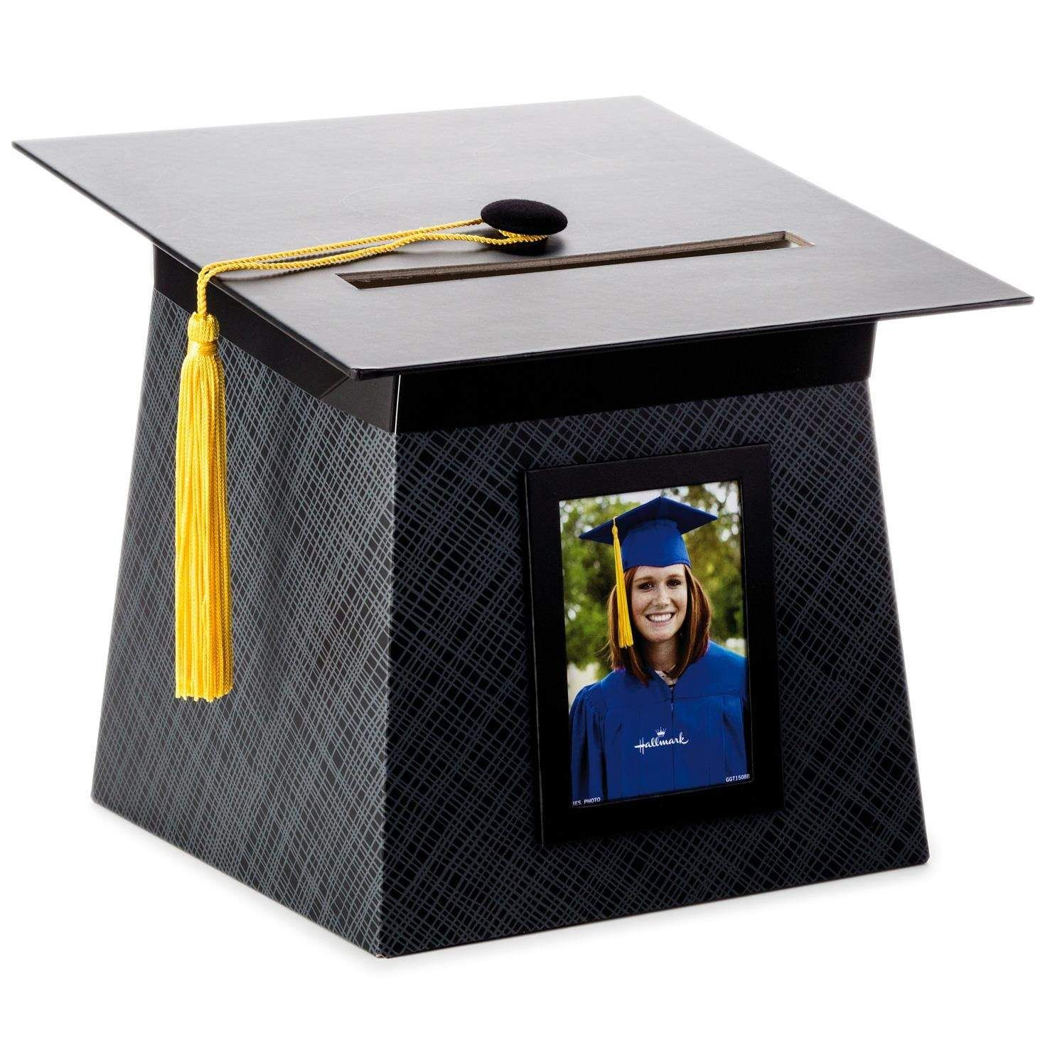 2015 graduation cap and gown card keeper box souvenir