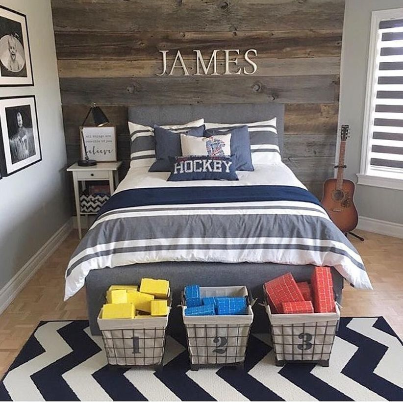 62 Awesome Teen Boys Bedroom Ideas That Are Fun And Cool
