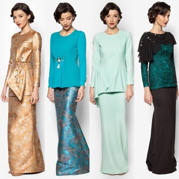 Fesyen Baju Raya 2016 Terkini Jovian Mandagie Baju Kurung