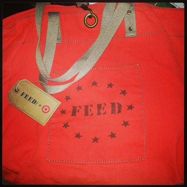 Such a cute bag and goes towards a great cause:)
