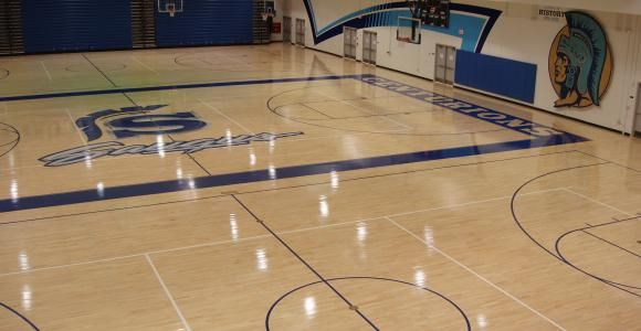 High school basketball gym designs read more about for Gym floor design
