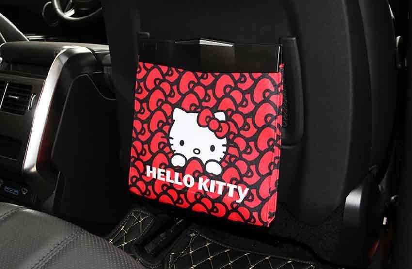 ハローキティ 車用ゴミ箱 車載ごみ箱 超かわいい ごみ箱 車載 Galaxy スマホケース キティ ゴミ袋