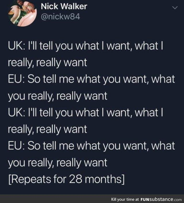 Brexit right now - FunSubstance