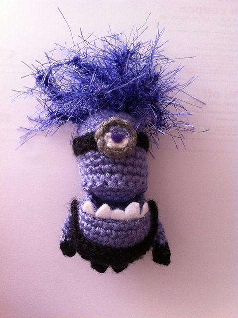 Ravelry: Purple Minion pattern by Ami Angela | Projects to Try ...