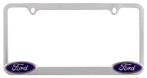 Bully WL021-C Ford License Plate Frame - Chrome. For product info go ...