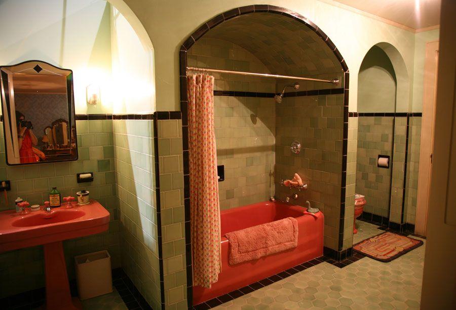 California Bathroom mildred pierce - 1930's california bathroom | production designer