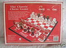 New Coca Cola Chess Game Set Polar Bear Coke Bottle Collectors Christmas Edition