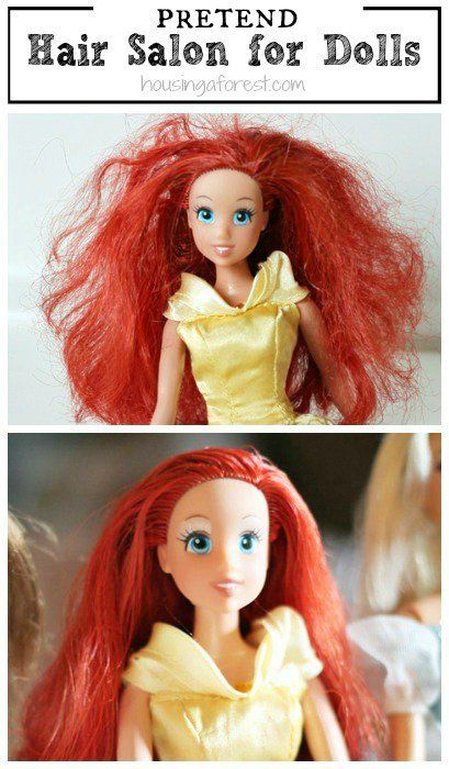 Parenting Hacks To Childproof Almost Everything In The Playroom Barbie Hair Fix Doll Hair Baby Doll Hair