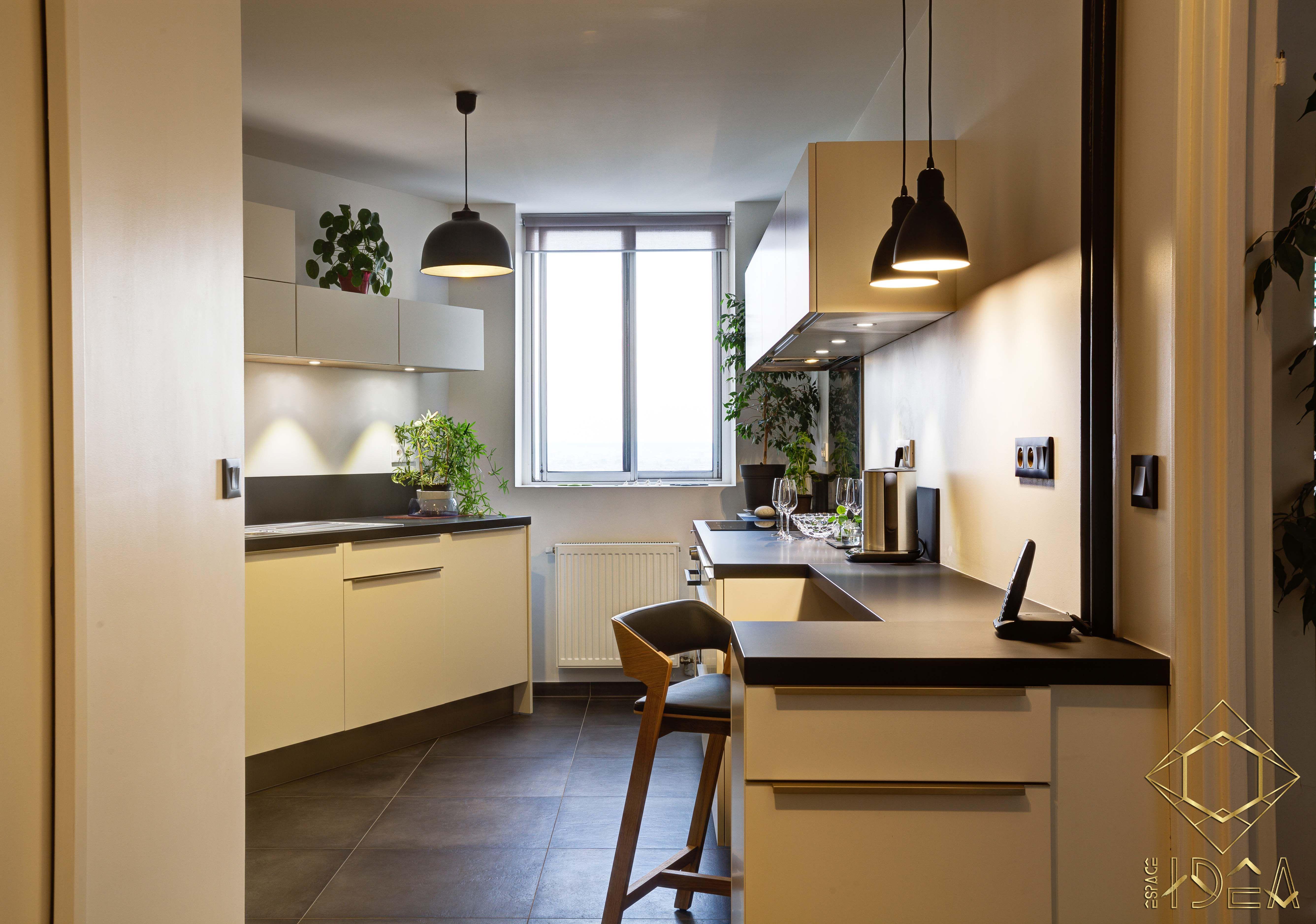 Inspirations Scandinaves cuisine au débarras dissimuléespace idea ambiance épurée et