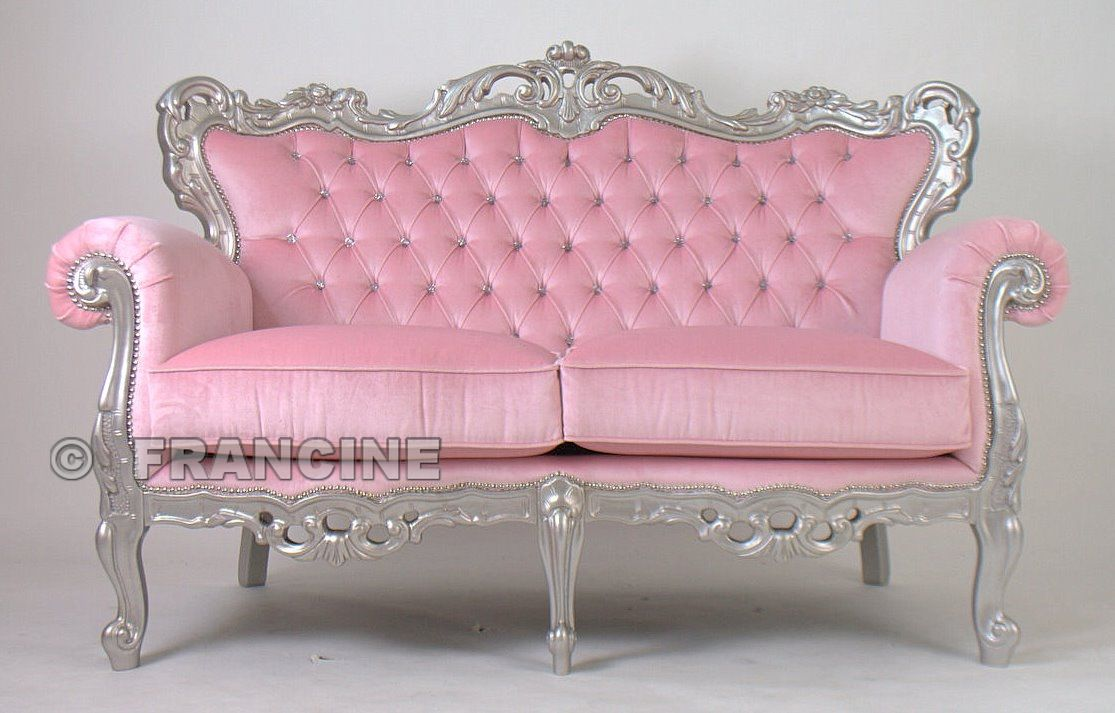 I Need Pink With Images Pink Furniture Pink Couch Decor