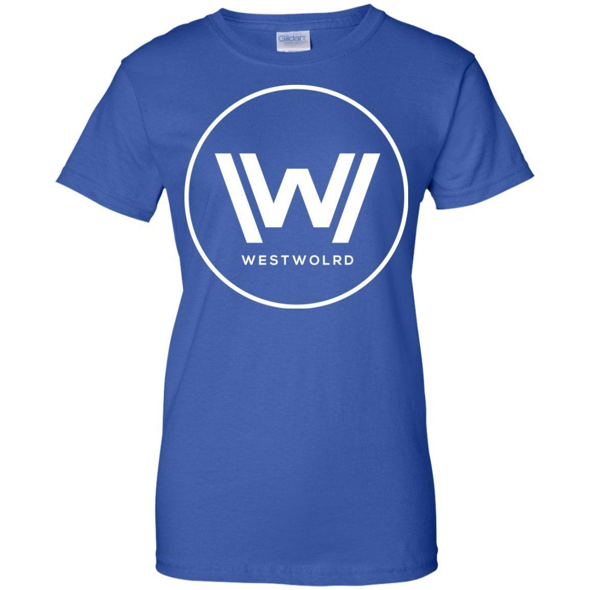 westworld21-01 Ladies Custom 100% Cotton T-Shirt
