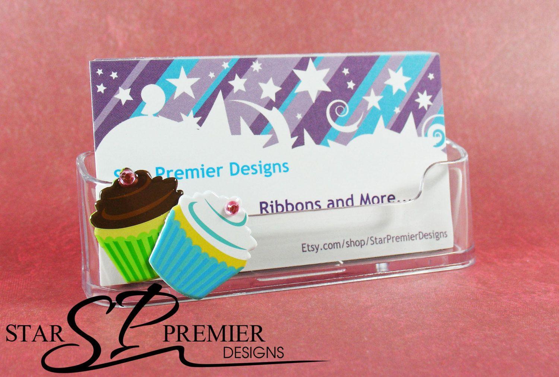 Cupcake Business Card Holder. by StarPremierDesigns on Etsy https ...