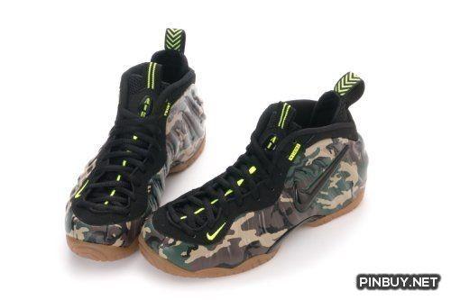 4cf12dcc01a33 ... Nike MENS Air Foamposite Pro PRM LE Green Camo (587547-300) (9.5 ...