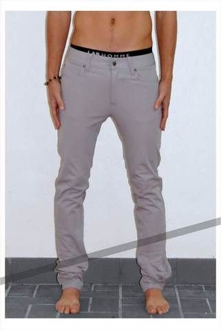 grey jeans. mens.