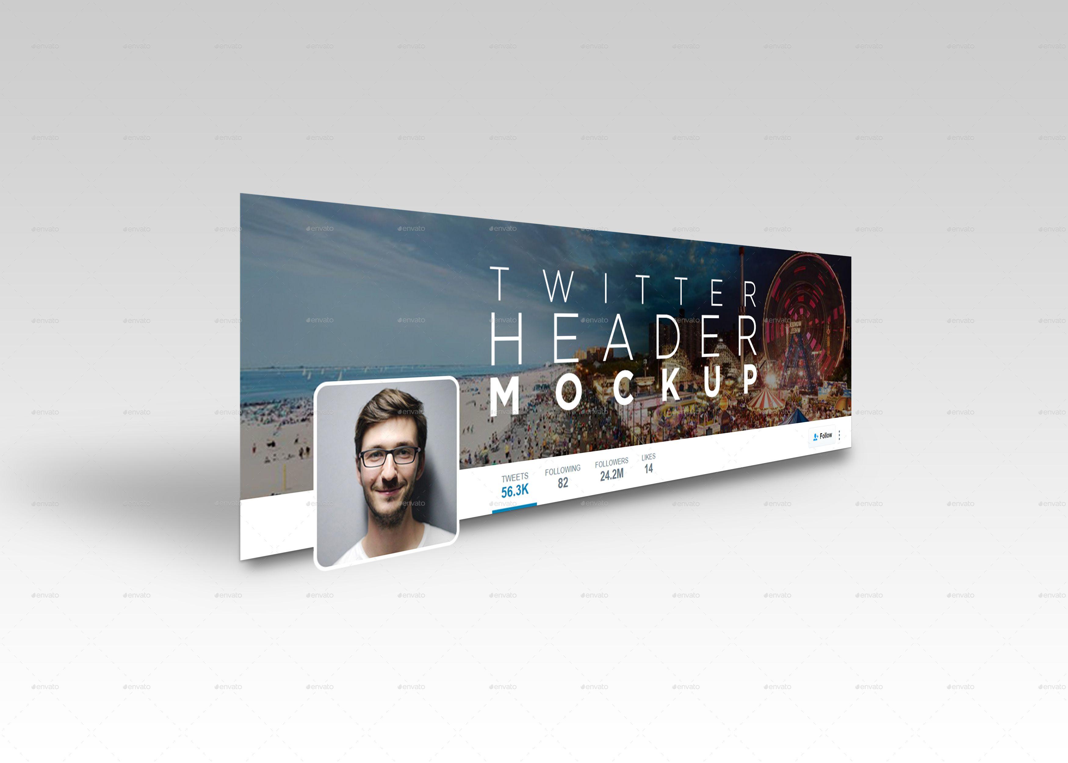 Twitter Header Mockup Twitter Header Header Mockup