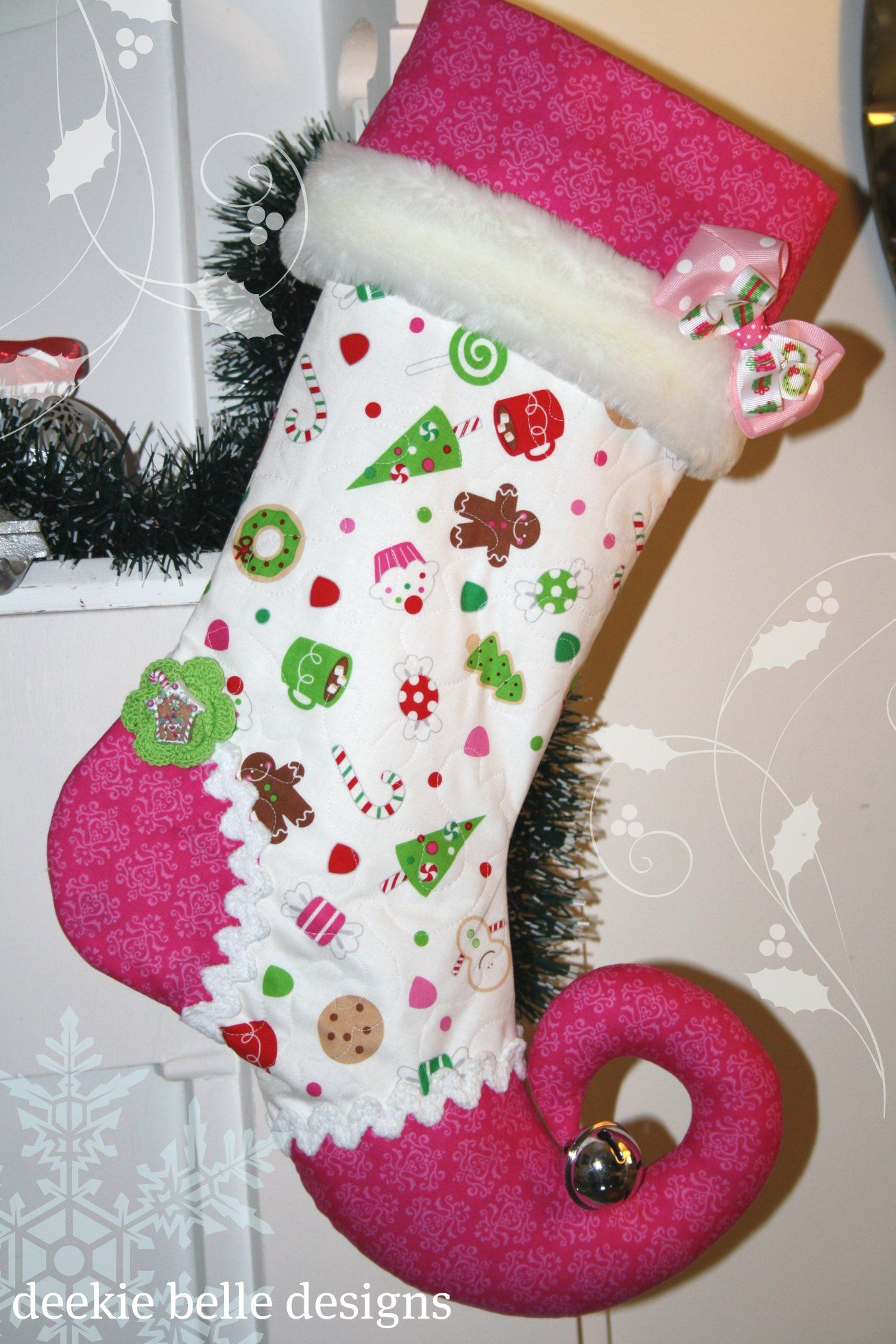 Christmas Stocking, Jingle Sox By Deekie Belle Designs $80Got These